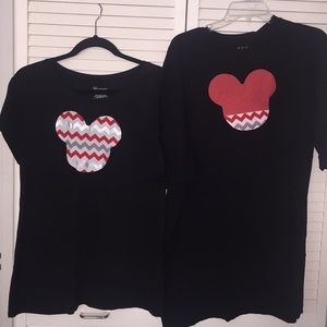 Mickey Mouse Disney custom made his/hers T-shirts
